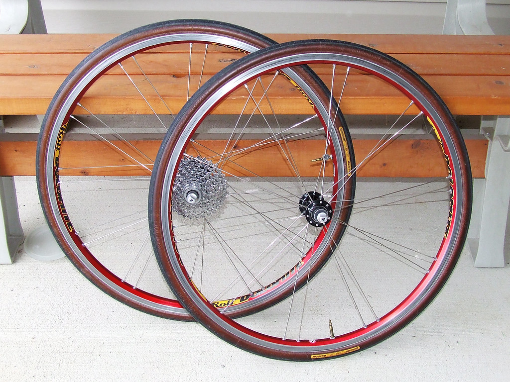 Conti Gran Prix Tires on Rolf Dolomite Wheelset