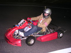 Dave on the Kart