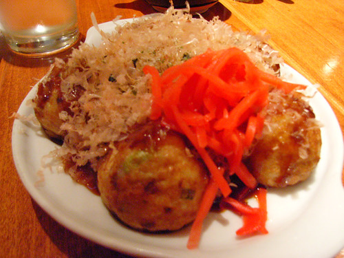 Takoyaki @ Sake Bar Hagi by you.