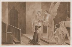 Notre-Dame du Laus, La Vénérable Benoîte communiée par les Anges