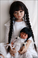 Mithi and Marieta (MiriamBJDolls) Tags: 2005 doll vinyl limitededition mithi marieta carmengonzalez annettehimstedt himstedtkinder
