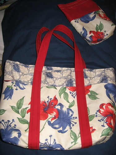 Six-Pocket Bag, and accessory pouch