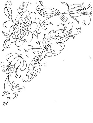 Downloadable Embroidery Patterns, Country Stock Designs