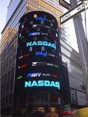 Times Square NASDAQ