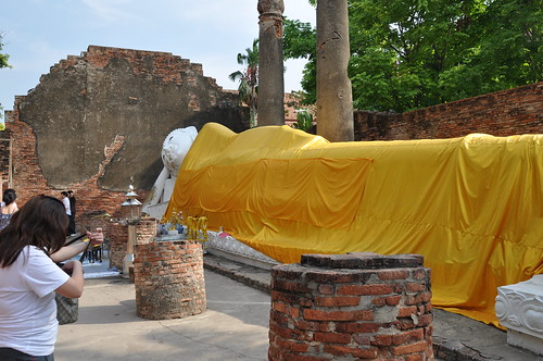 watyaichaimongkhol ayutthaya unesco world heritage site