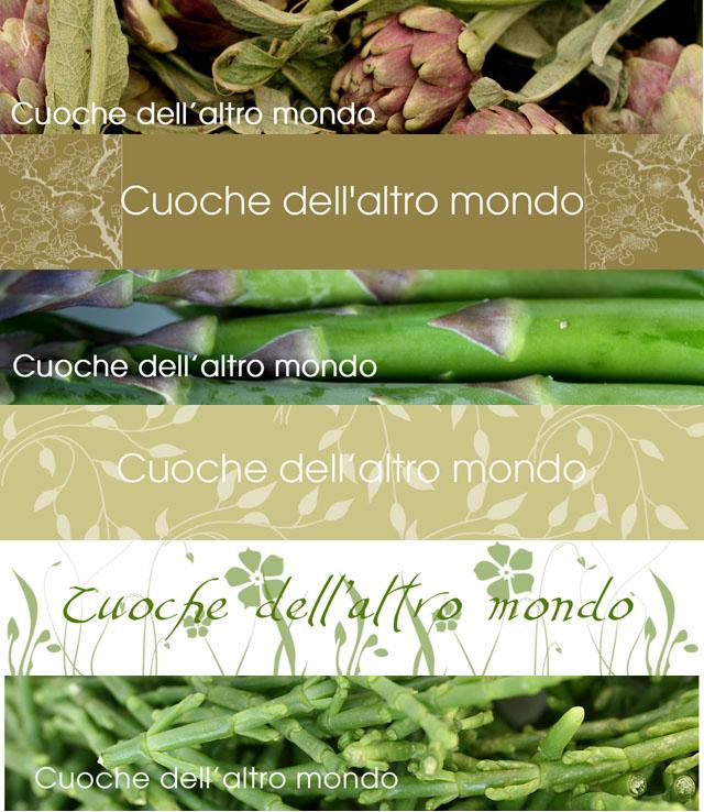 Carrellata header verdi