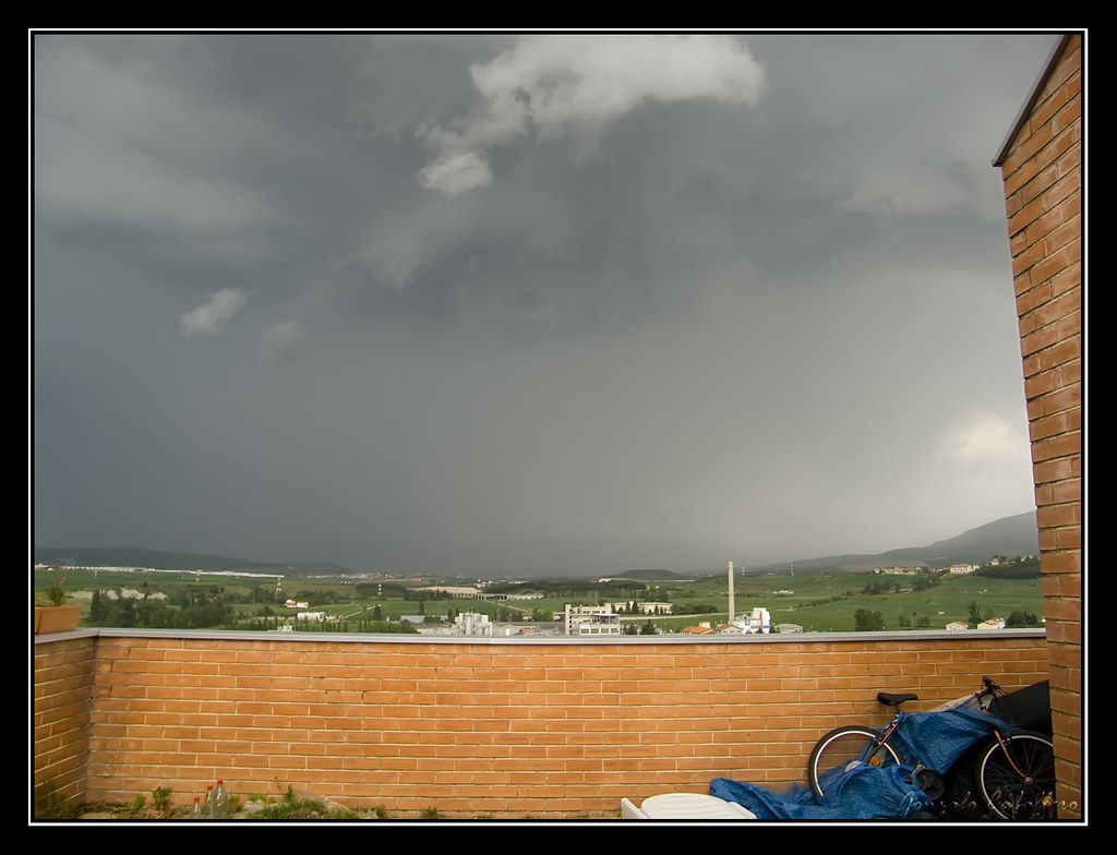 Tormenta en Pamplona 11 may 2009