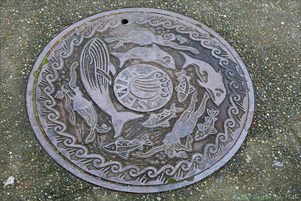 Seattle Sewer Hatchcover