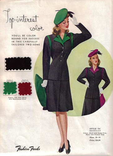 fashion 1940s 1940 war ww2 magazines