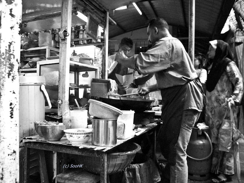 Lane Vendor @ KL, Malaysia