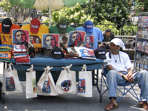 Obama table, Union Square