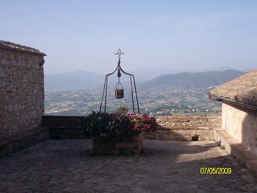 Chiostro convento - Santuario dello Speco