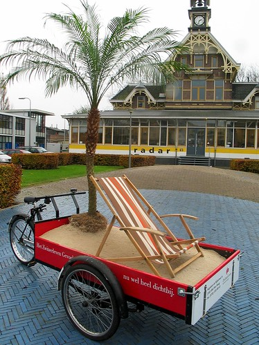zwitserleven palm tree bakfiets