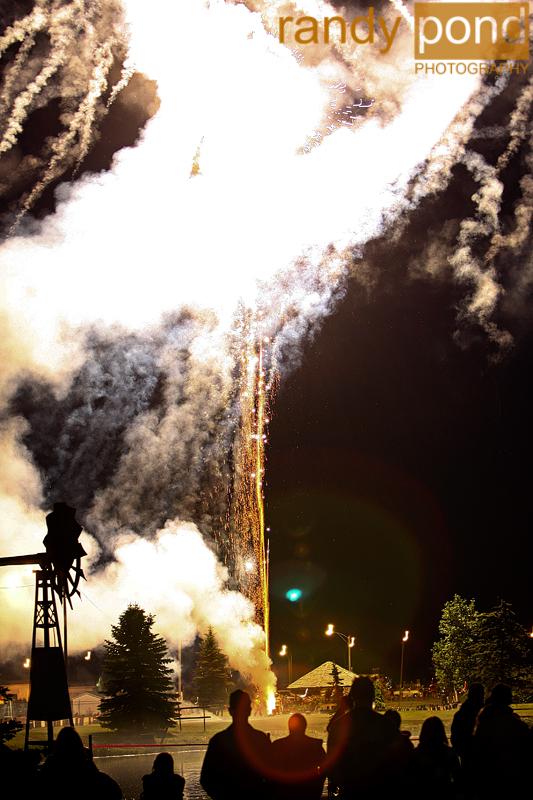 ~ Fireworks - Canada Day - 2009 ~