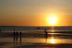 As The Sun Slowly sets (kelvinlls) Tags: sunset australia darwin mindilbeach