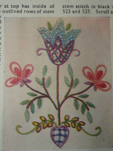 Needlecraft booklet from 1940s