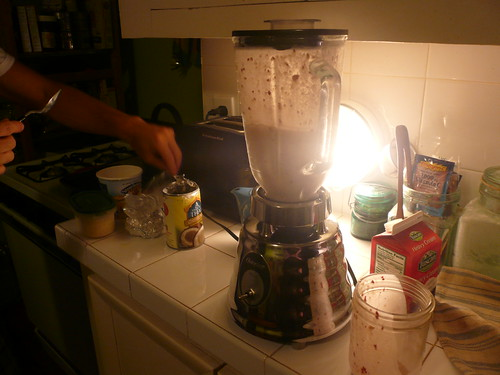 Milkshakes, thanks to Nick.