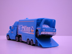 MIni Dinoc Team (jadafiend) Tags: cars kids grey dj disney plastic racers collectors mack comparison theking boost wingo tunerz haulers 2packs lightningmcqueen miniadventures dinoco pistoncup chickhicks snotrod speedwayofthesouth tankcoat nostall teamhtb
