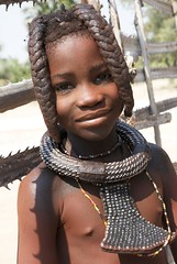 Enfant himba. Namibia (courregesg) Tags: africa african culture tribal safari afrika tribe ethnic namibia tribo himba afrique ethnology tribu southernafrica namibie tribus ethnie