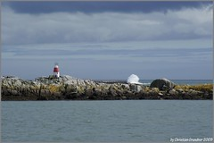 Dalkey Lighthouse (grundi1) Tags: ireland sea lighthouse water meer wasser sony irland eire 300 alpha dalkey leuchtturm