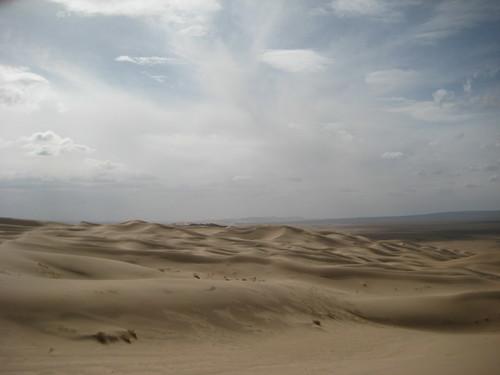 Рассеянный свет, тени и пески