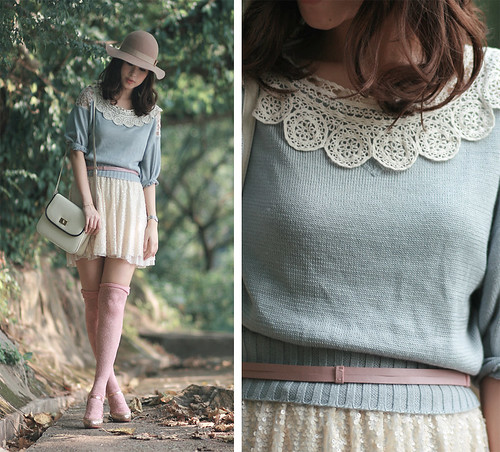 Dressing in pastels