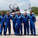 08 Crew arrival - Photo Credit: Michele Famiglietti AMS02 Collaboration