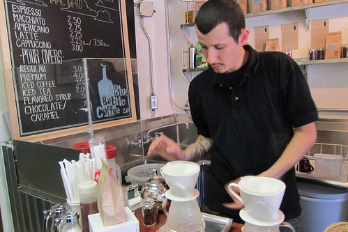 Spring For Coffee: Alex Corona Makes Blue Bottle Coffee
