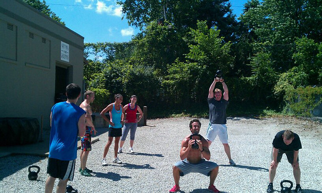 Saturday CrossFit group WOD
