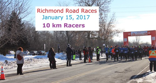 2017 Richmond Road Races -  10k race results and list of participants
