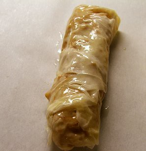 Apple Roll, Ready for the Oven