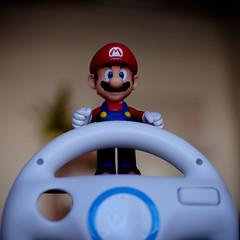 Mario is ready (O2Sources) Tags: canon nintendo wii canonef50mmf12lusm 5dmarkii canon5dmarkii