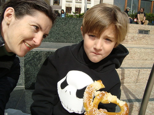 Pretzel in Union Square