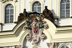 A Coat of Arms on Sternberg Palace in Prague (marantzer) Tags: digital nikon europe prague praha praskhrad unesco czechrepublic d200 dslr baroque bohemia dx praguecastle worldheritagesites thegoldencity cityofahundredspires hradansknmst sternbergpalace afsdxvrzoomnikkor18200mmf3556gifed hradcanysquare themotherofcities hlavnmstopraha marantzer ternberskpalc