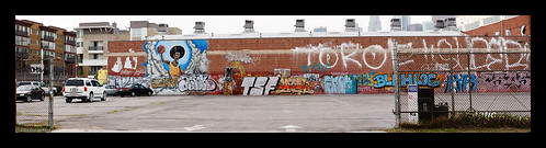 Graffiti (Basketball) - Panorama © 2009 Michael Kang