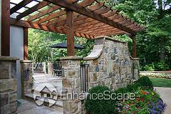 Garden Pergolas Pictures (EnhanceScape.com) Tags: landscaping pergolas outdoorgarden hardscape gardenlandscape enhancescape landscapeidea gardenarbors