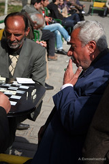 domino (iranview) Tags: park game iran streetphotography iranian domino tehran   oldmans documentaryphotography