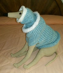 snood (GreyhoundCrafts) Tags: dog greyhound sweater hound knit whippet