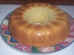 A new bundt loaf of gf sweet bread