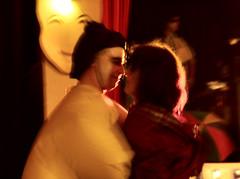 Love me tender, love me true (Fred Dhennin) Tags: party dance brittany bretagne danse fete sumo fancydress masque dguisement desse balmasqu presquiledecrozon goddness maskedparty sumotori lanvoc