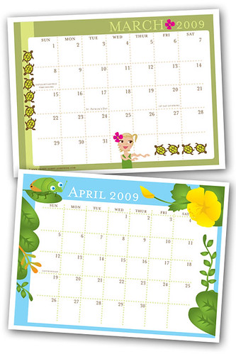 March and April now available