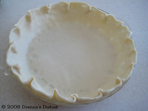 Coconut Pie: Pie Shell