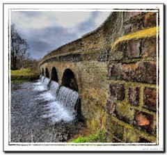 CRAY WIER (mickeydud) Tags: england painterly kent arty photoshopped british ithinkthisisart mickeydud
