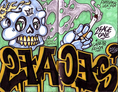 Prosper's Blackbook 2009 (Death Row's Finest) Tags: graffiti san valley fernando ht sfv usk pca blackbook prosper 2face prosp