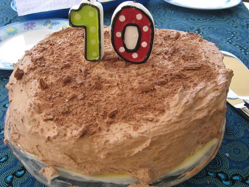 Ice-cream cake