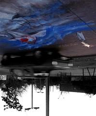 Las calles nos ladran / Contra la corriente (Felipe Smides) Tags: chile auto santiago sea color art water colors cutout painting atardecer mar calle agua mural barco arte wine colores perro sueos intervencion paraguas felipe botella vino pinturas oceano barquito camioneta manchas artisticexpression estacioncentral desahogo instantfave mywinners abigfave aplusphoto beatifulcapture colourartaward colorartaward artlegacy smides pinturasmides pinturassmides felipesmides