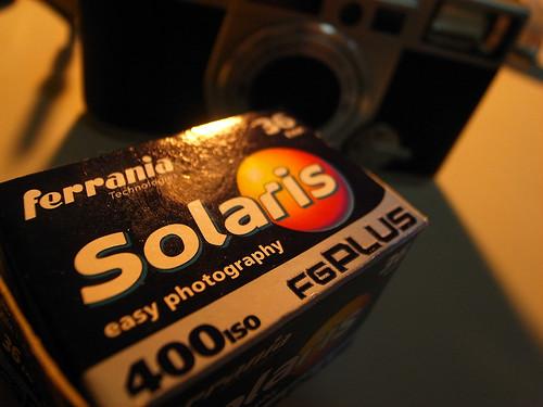 Fujifilm KLASSE W + Solaris ferrania 400