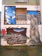 A busy wall, Cheltenham Road (emmdee) Tags: streetart bristol graffiti haka soka epok flx cheltenhamroad sepr prsc nexttojesters