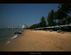Sea View (lensbug.chandru) Tags: blue trees sea sun india green beach water thailand is sand bath asia walk bangkok scooter shore shops l 5d breeze chubby resorts chennai chandru tamil pattaya nadu 24105