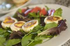 Pan-Fried Deviled Eggs
